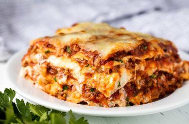 picture of lasagna